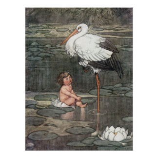William Heath Robinson - The Marsh King's Daughter Poster