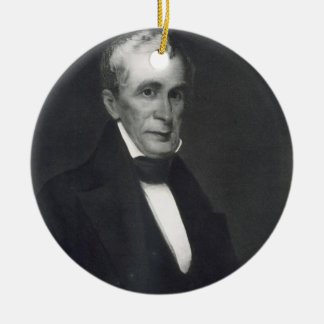 William Henry Harrison, 9th President of the Unite Ceramic Ornament
