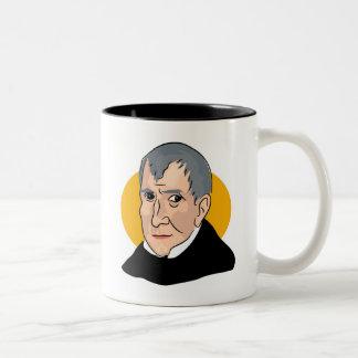 William Henry Harrison Two-Tone Coffee Mug