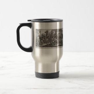William Hogarth-Hudibras Encounters Skimmington Coffee Mug