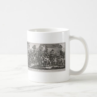 William Hogarth-Hudibras Encounters Skimmington Coffee Mugs