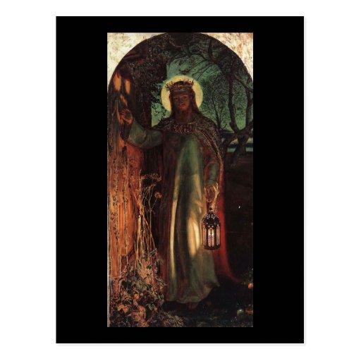 William Holman Hunt Light of the World Post Cards