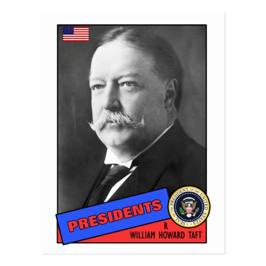 William Howard Taft Baseball Card