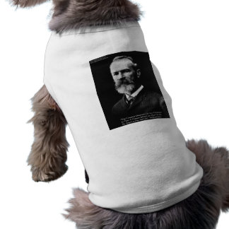 "William James ""Attitude"" Wisdom Quote Gifts & Card Doggie Tshirt"