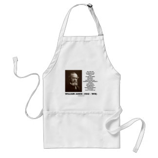 William James Mass Of Habits Destiny Quote Standard Apron