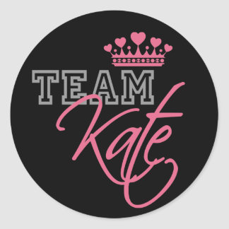 William & Kate Royal Wedding Round Sticker