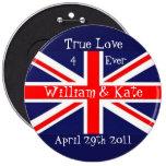 William & Kate-Wedding+Union Jack Pin