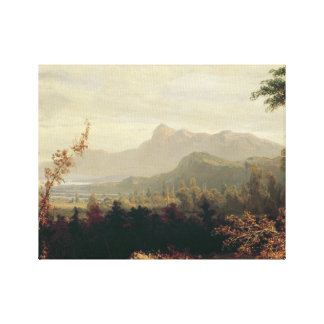 William Louis Sonntag - In the White Mountains Canvas Print