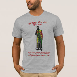 William Marshal Image with Sword Shirt