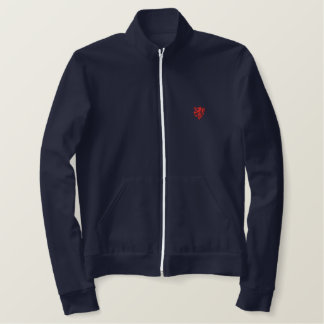 William Marshal Lion Embroidered Track Jacket