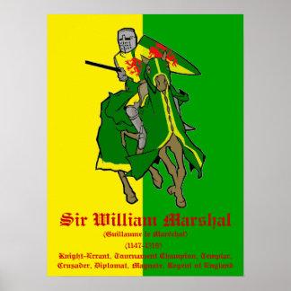 William Marshal Tournament Champion Poster