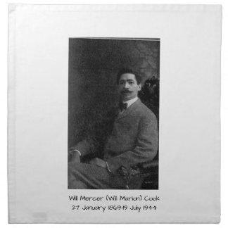 William Mercer (Will Marion) Cook Napkin
