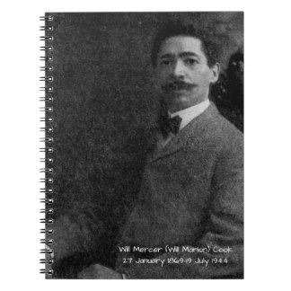 William Mercer (Will Marion) Cook Notebook