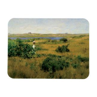 William Merritt Chase - Summer at Shinnecock Hills Magnet