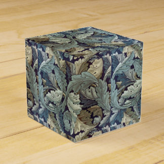 William Morris Acanthus Floral Wallpaper Design Favor Box