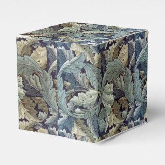 William Morris Acanthus Floral Wallpaper Design Party Favor Boxes