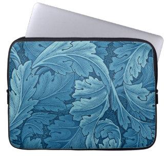 William Morris Acanthus in Blue Laptop Sleeve