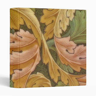 William Morris Acanthus Vintage Floral Vinyl Binder