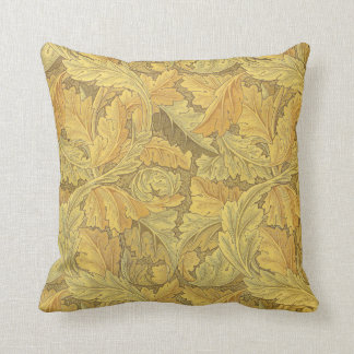 William Morris Acanthus Wallpaper Throw Pillow