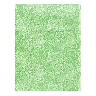 William Morris Arts and Crafts Design Postcard