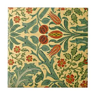 William Morris - Autumn Flower pattern Tile