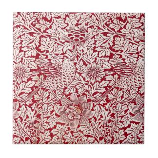 William Morris Bird and Anemone Tile