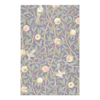 William Morris Bird And Pomegranate Stationery