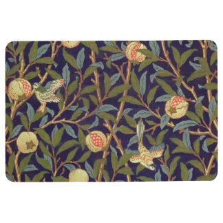 William Morris Bird And Pomegranate Vintage Floral Floor Mat