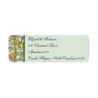 William Morris Bird & Flower Return Address Labels