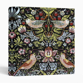 William Morris birds and flowers 2 Vinyl Binders