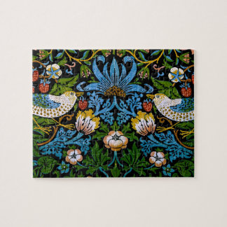 William Morris Birds Flowers Strawberries Fine Puzzles