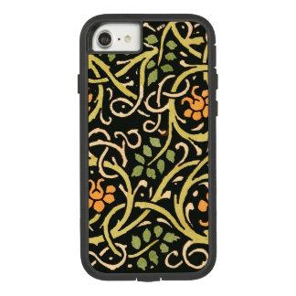 William Morris Black Floral Art Print Design Case-Mate Tough Extreme iPhone 8/7 Case
