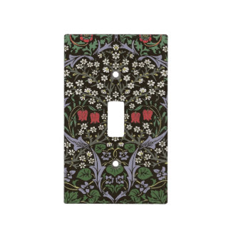 William Morris Blackthorn Tapestry Art Print Light Switch Cover