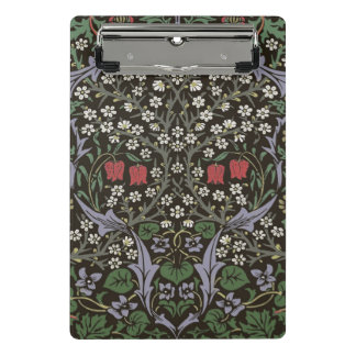 William Morris Blackthorn Tapestry Art Print Mini Clipboard