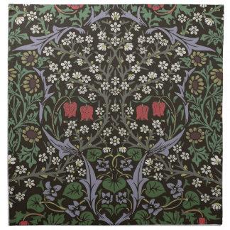 William Morris Blackthorn Tapestry Art Print Napkin