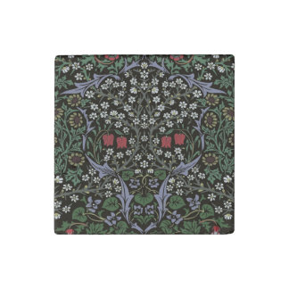William Morris Blackthorn Tapestry Art Print Stone Magnets