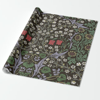William Morris Blackthorn Tapestry Art Print Wrapping Paper
