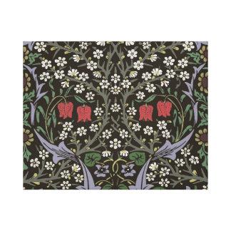 William Morris Blackthorn Tapestry Vintage Floral Canvas Print