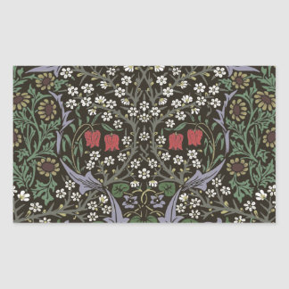 William Morris Blackthorn Tapestry Vintage Floral Sticker