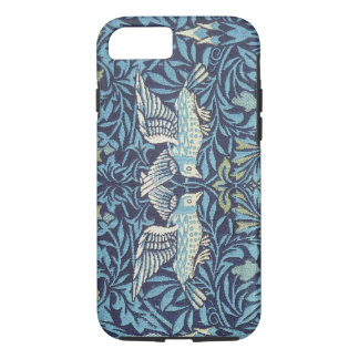 William Morris Blue Birds Tapestry Floral Vintage iPhone 7 Case