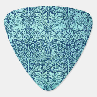 William Morris Brother Rabbit Pattern in Blue Pick