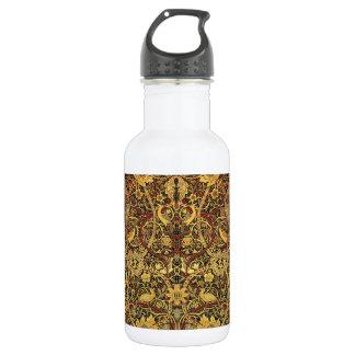 William Morris Bullerswood Tapestry Floral Art 532 Ml Water Bottle