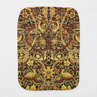 William Morris Bullerswood Tapestry Floral Art Burp Cloth