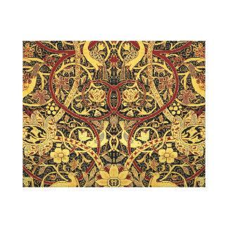 William Morris Bullerswood Tapestry Floral Art Canvas Print