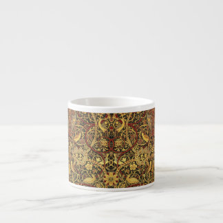 William Morris Bullerswood Tapestry Floral Art Espresso Cup