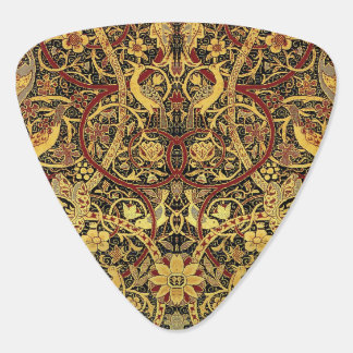 William Morris Bullerswood Tapestry Floral Art Guitar Pick