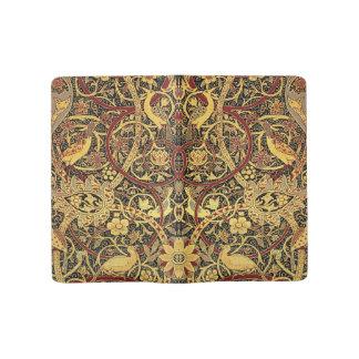 William Morris Bullerswood Tapestry Floral Art Large Moleskine Notebook