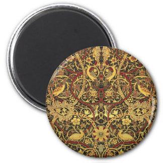 William Morris Bullerswood Tapestry Floral Art Magnet