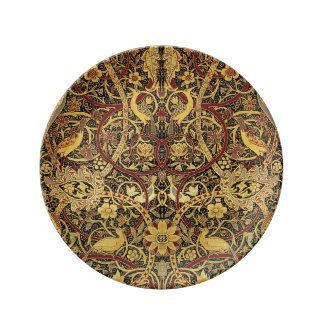 William Morris Bullerswood Tapestry Floral Art Plate