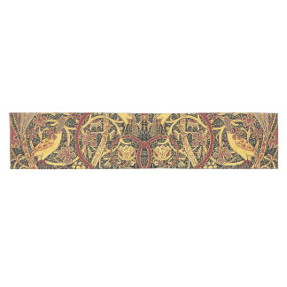 William Morris Bullerswood Tapestry Floral Art Short Table Runner